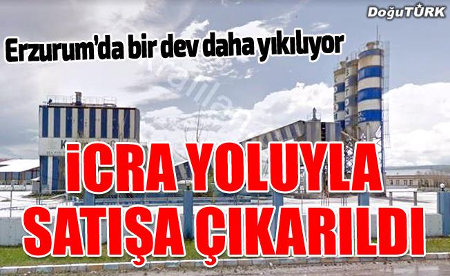 Erzurum'da bir dev daha yıkılıyor