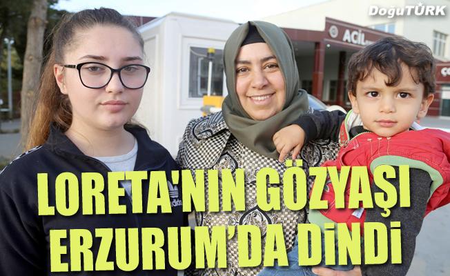 Kosovalı Loreta'nın gözyaşı Türkiye'de dindi