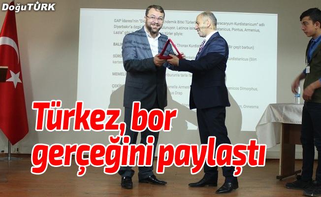 Türkez bor gerçeğini paylaştı