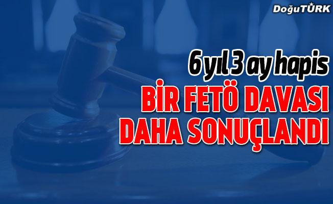 """Eski teğmen Kotan'a """"FETÖ""""den 6 yıl 3 ay hapis"""