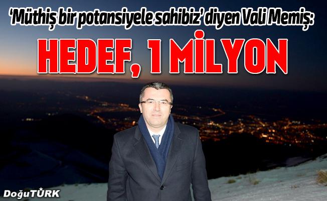 Vali Memiş: Erzurum, dünyanın göz bebeği haline gelmiştir
