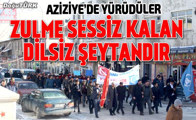 Doğu Türkistan için yürüdüler