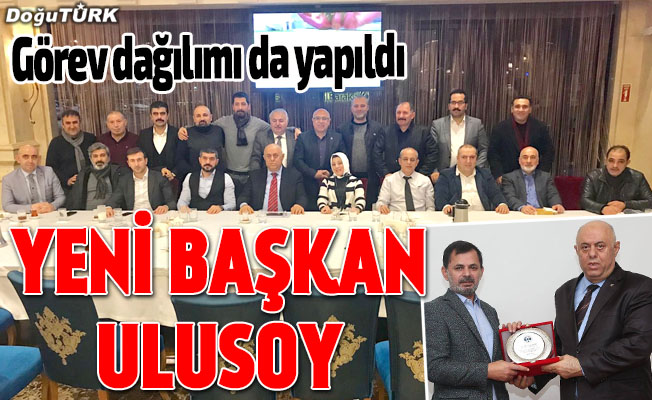 İstanbul Erzurum Dernekler Federasyonu'nda Ulusoy dönemi
