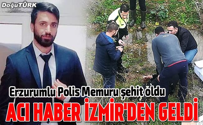 İzmir'den acı haber: Polis memuru şehit oldu