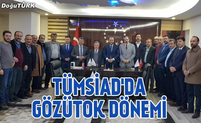 TÜMSİAD Erzurum Şubesi'nde Burucu dönemi sona erdi
