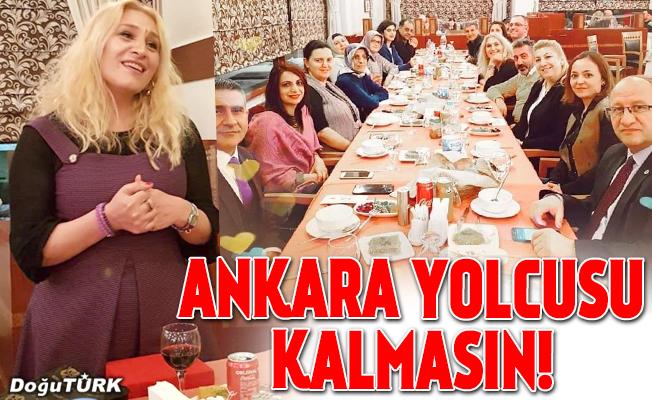 Ankara yolcusu kalmasın!