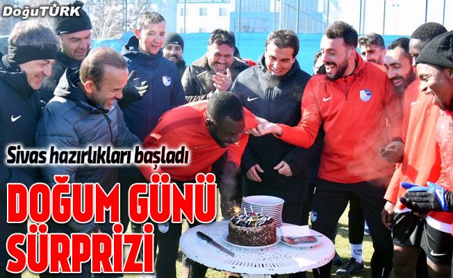 Erzurumspor, Sivasspor maçı hazırlıklarına başladı