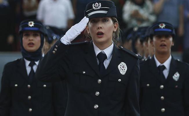 EGM 2 bin 500 kadın polis memuru adayı alacak