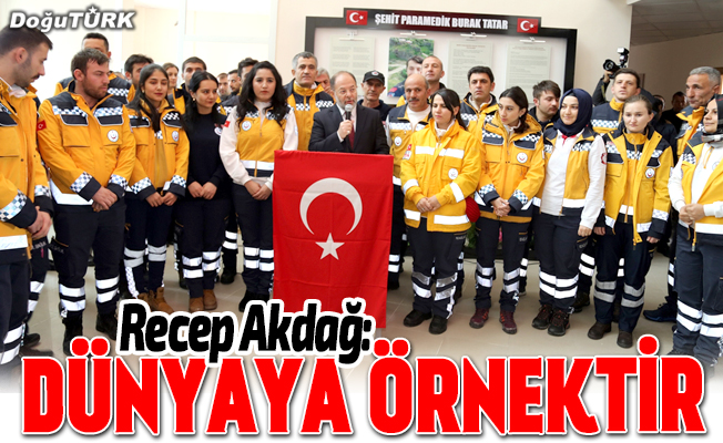 Erzurum'a 6 yeni ambulans