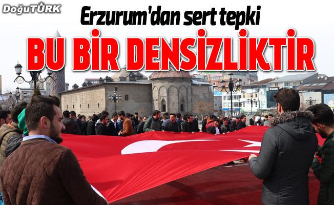 """Erzurum'dan """"ezana saygısızlığa"""" tepki"""