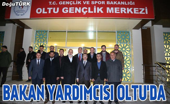 Gençlik ve Spor Bakan Yardımcısı Ersöz, Oltu'da