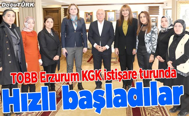 Kadın girişimcilerin ziyaret turu devam ediyor