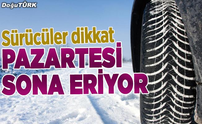Kış lastiği zorunluluğu 1 Nisan'da bitiyor!