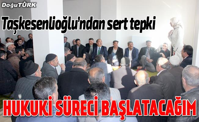 Milletvekili Taşkesenlioğlu'ndan iddialara sert tepki