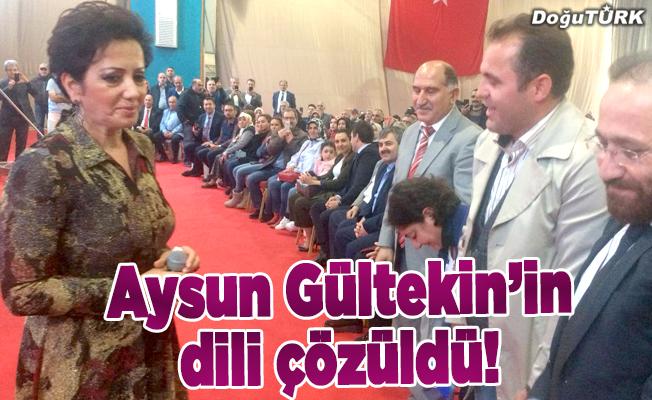 Aysun Gültekin'in dili çözüldü!