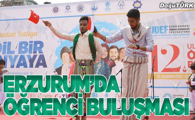 """Erzurum'da """"12. Uluslararası Öğrenci Buluşması"""""""
