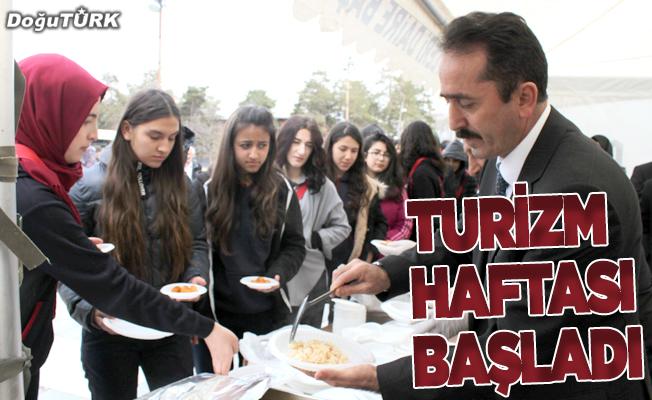 """Erzurum'da """"43.Turizm Haftası"""" etkinlikleri başladı"""
