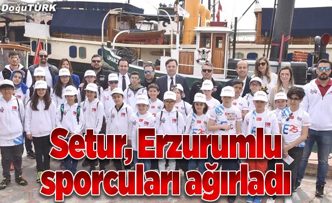 Erzurumlu minik sporcular İstanbul'da