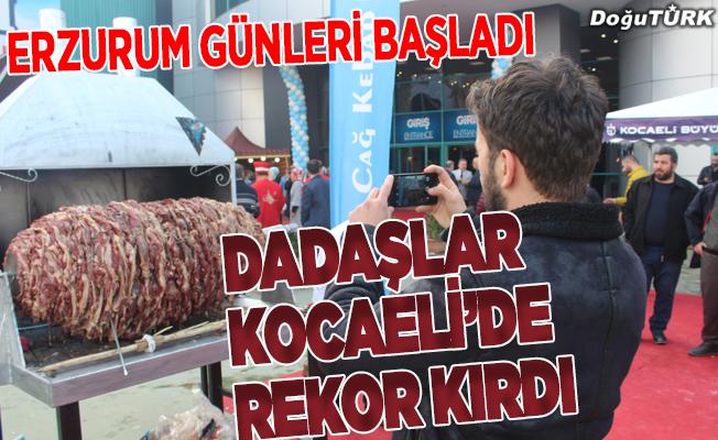 Erzurumlular Kocaeli'de rekor kırdı