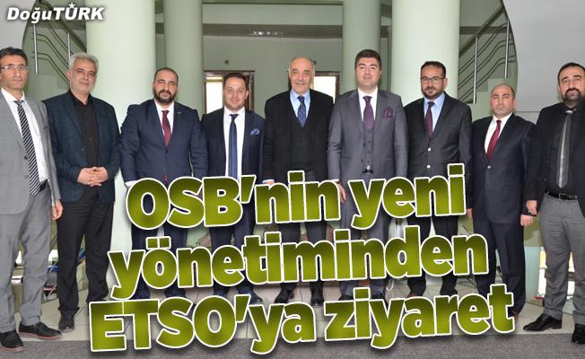 OSB'nin yeni yönetiminden ETSO'ya ziyaret