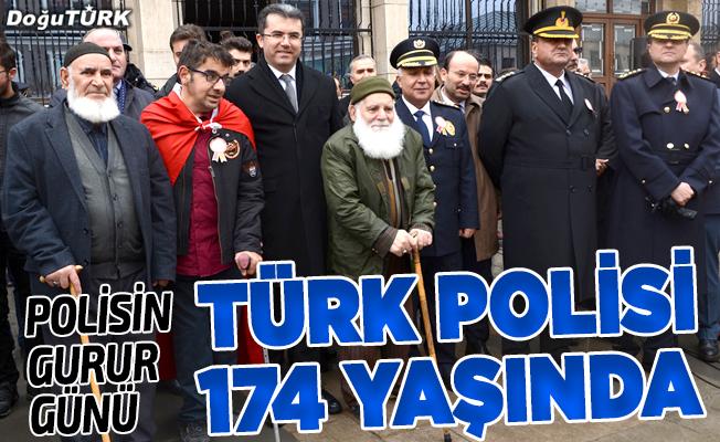 Türk Polis Teşkilatı 174 yaşında