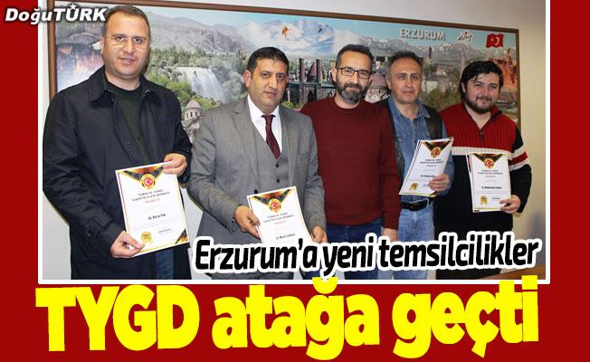 TYGD Erzurum'da atakta