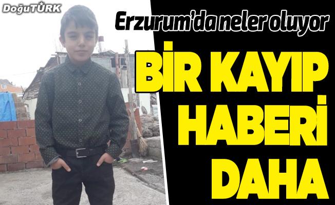 4 yaşındaki Furkan'dan sonra bir kayıp haberi de Narman'dan