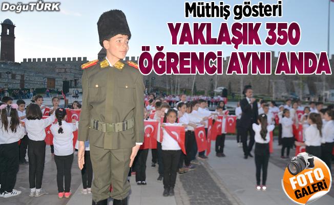 Atatürk'ün Samsun'a çıkışının 100. yılında atabarı oynadılar