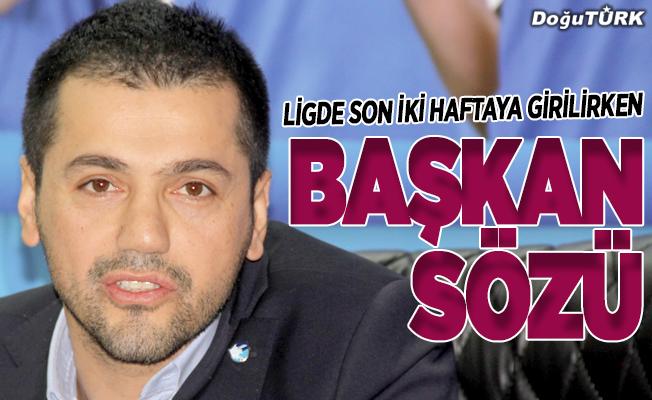 BB Erzurumspor Başkanı Üneş taraftara söz verdi