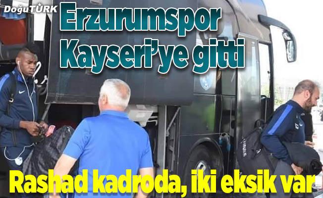 BB Erzurumspor, Kayseri'ye gitti