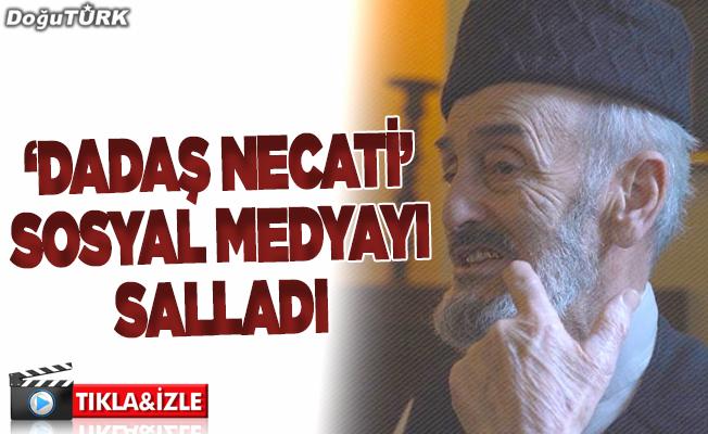 """Dadaş Necati"" sosyal medyada ilgi odağı oldu"