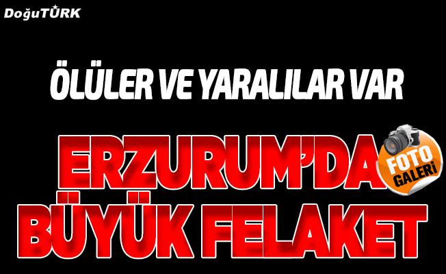 Erzurum'da facia: 2 ölü, 6 yaralı