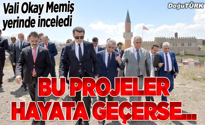 Erzurum'daki tarihi mekanlar kentsel dönüşümle hayat bulacak