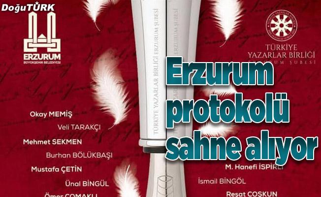 Erzurum Protokolü şiir okuyacak