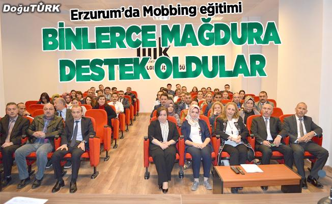Erzurum'da Mobbing eğitimi