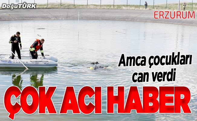 Serinlemek için gölete giren 2 çocuk boğuldu