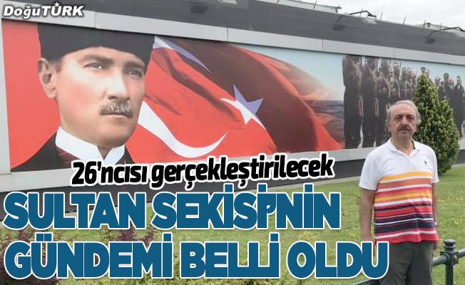 26. Sultan Sekisi'nin gündemi belli oldu