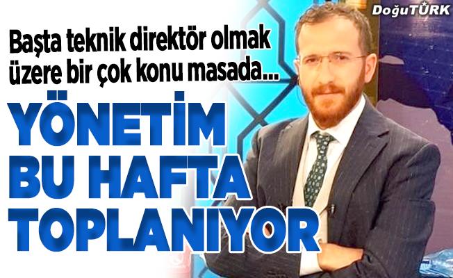 BB Erzurumspor'da kritik hafta