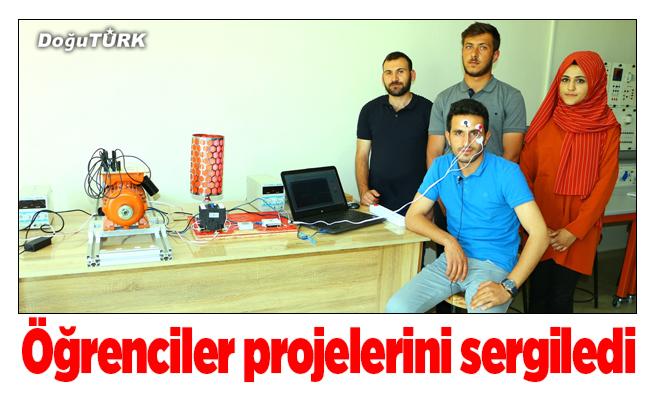 İspir'de öğrenciler projelerini sergiledi