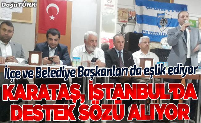 Karataş, İstanbul'da harıl harıl çalışıyor