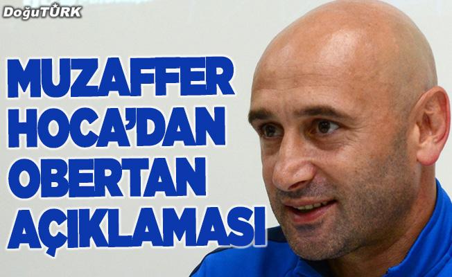 Obertan Erzurumspor'da olmaktan çok mutlu