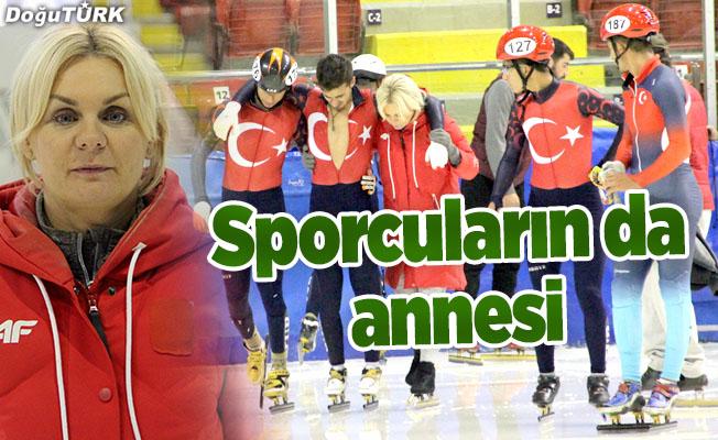 Polonyalı antrenör Anna Lukanova sporcuların 'annesi' oldu.