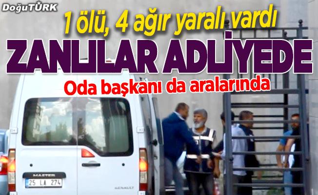 Erzurum'daki silahlı kavgada flaş gelişme