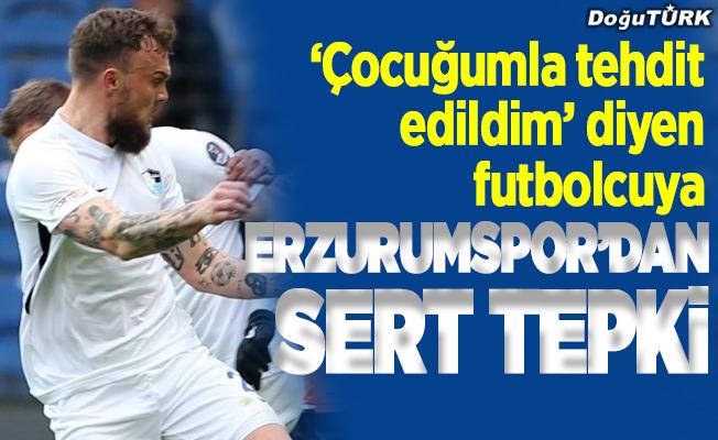 Erzurumspor'dan eski futbolcusu Kanstrup'a sert tepki
