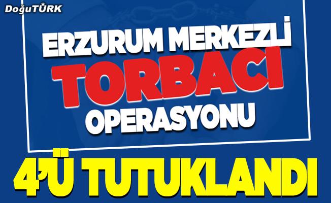 Erzurum merkezli uyuşturucu operasyonu