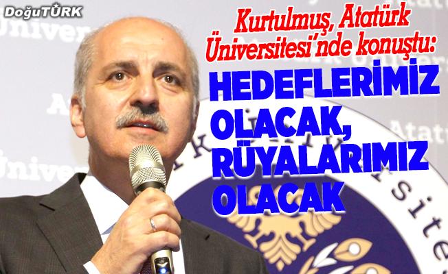 Kurtulmuş: Türkiye güçlü ve büyük ülke olmak zorundadır