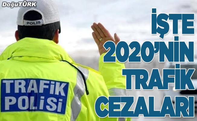 2020 yılının trafik cezaları belli oldu