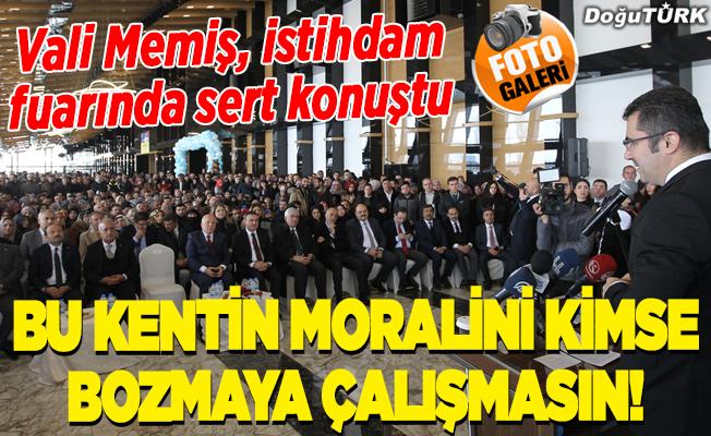 """""""8. Erzurum Kariyer ve İstihdam Fuarı"""" açıldı"""