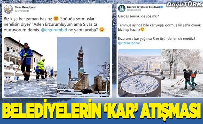 Belediyelerin 'kar' atışması; Gardaş seninki de söz mü?