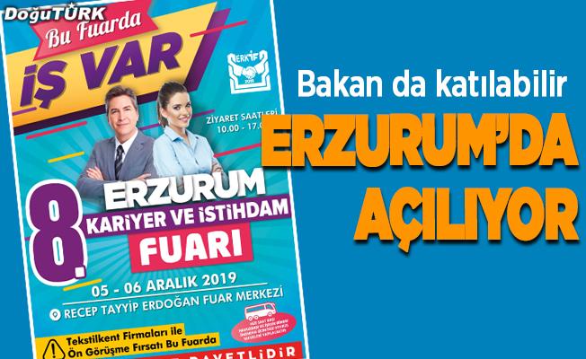 Erzurum'da kariyer ve istihdam fuarı
